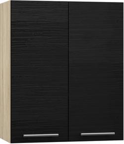 BlanKit G60 Sonoma+OakBlack.381 Köögikapp
