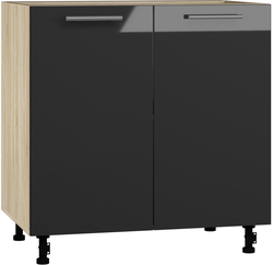 BlanKit D80 Sonoma+Graphite.G399 Köögikapp