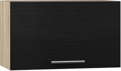 BlanKit G60.h36 Sonoma+OakBlack.381 Köögikapp