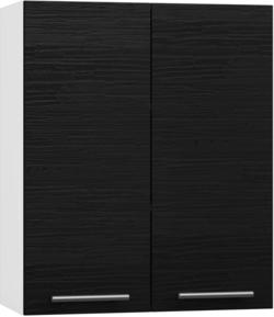 BlanKit G60 White+OakBlack.381 Köögikapp