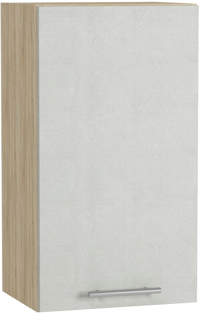 BlanKit G40 Sonoma+Concrete cream.353 Köögikapp