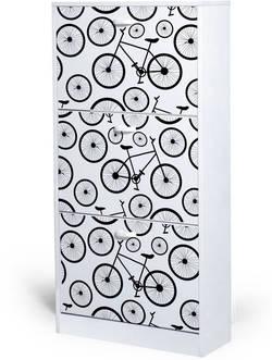 Bike 20940F 3 Jalatsikapp-riiul